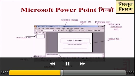 Presentation Hindi - screenshot