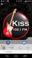 Screenshot of Kiss FM - 102.1 - São Paulo