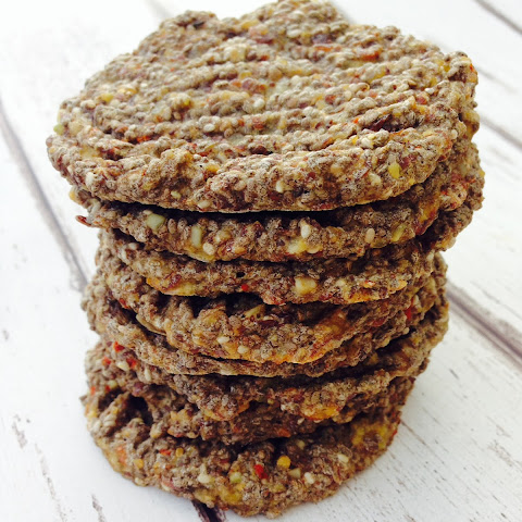 Chia And Flax Seed Biscuits