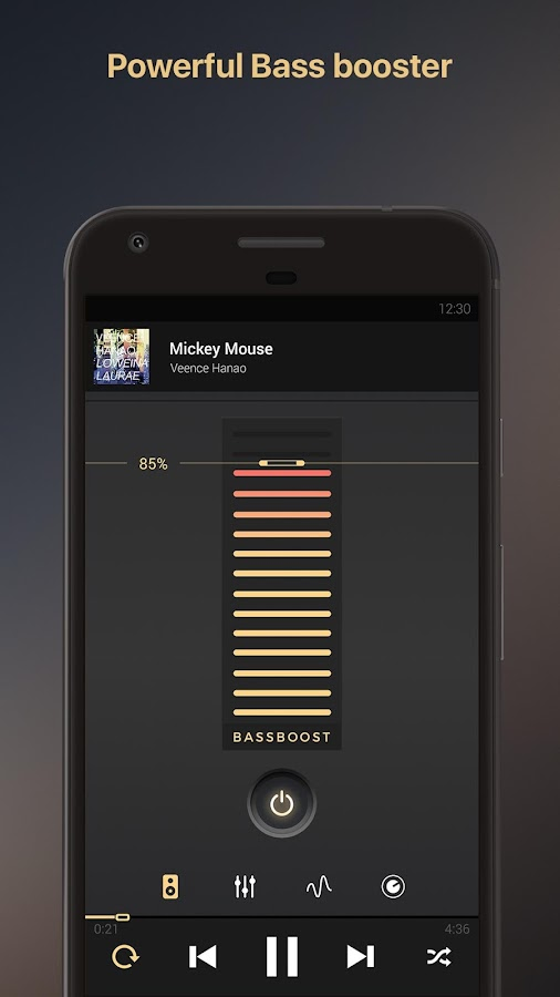 Equalizer music player booster Screenshot 1