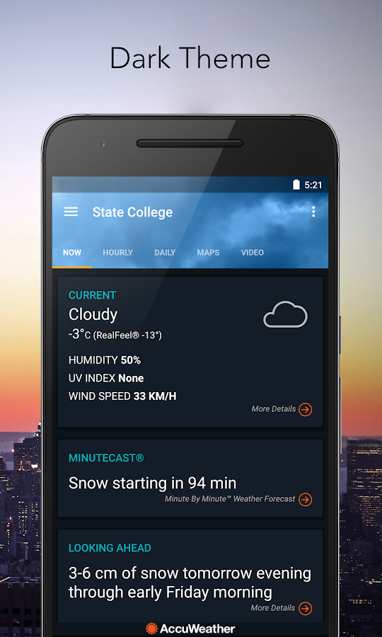 AccuWeather Platinum Screenshot 4