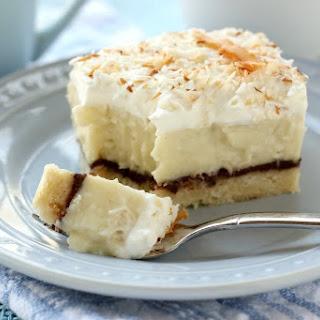 Chocolate Cream Pie Bars Recipes