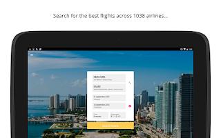 Screenshot of Cheap flights — JetRadar
