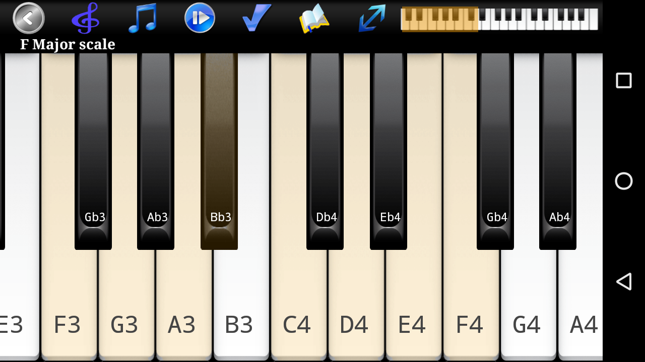 Piano Scales & Chords Pro Screenshot 1
