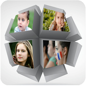 4D Collage Photo Frame
