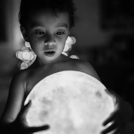 I'll give you the moon by Bex Maini - Babies & Children Toddlers ( moon, christmas, lamp, toddler, glow,  )
