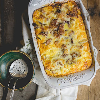 Roasted Potato, Bacon, and Egg Breakfast Casserole