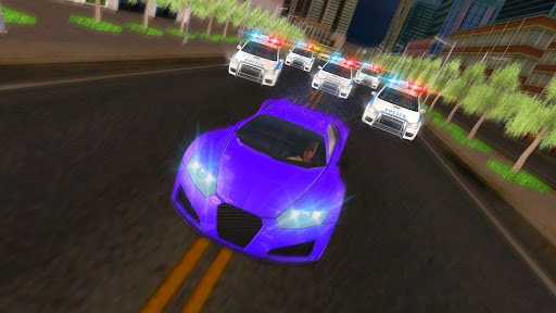 Miami Police Highway Car Chase City Hot Crime War screenshot 7