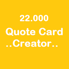 22000 Quote Card Creator