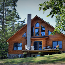 Log Home by Monroe Phillips - Buildings & Architecture Homes