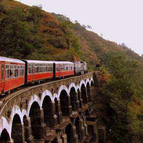 KALKA  TO SHIMLA TOY TRAIN.. Himachal Pradesh..India by Srabani Mitra - Travel Locations Railway ( pwcpaths )