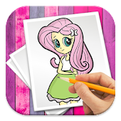 App How To Draw Equestria Girls APK for Windows Phone