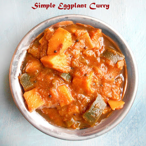 Eggplant Curry Recipe (Vegan)