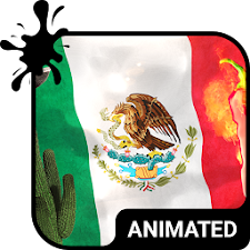 Mexico Animated Keyboard