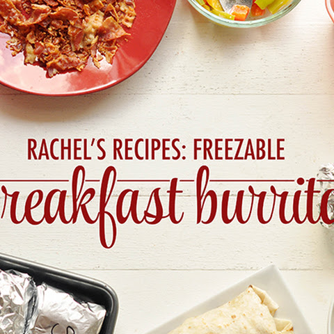 Freezable Breakfast Burritos