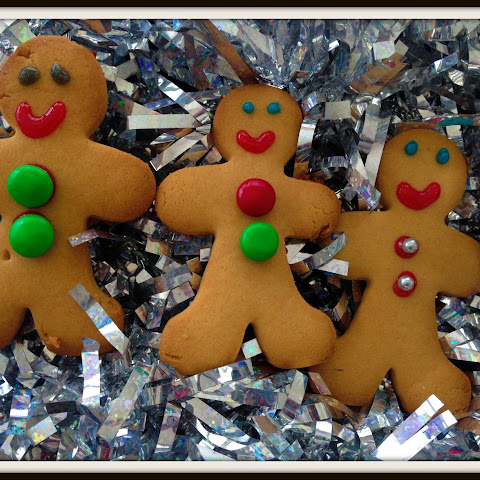 Donna Hay gingerbread men recipe (egg-free)