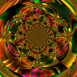by Darrell Tenpenny - Digital Art Abstract (  )