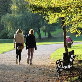 by Ivana Tilosanec - City,  Street & Park  City Parks ( tree, nature, park, autumn, croatia, people )