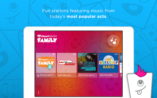 iHeartRadio Family screenshot 5