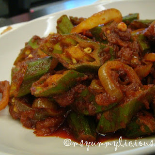 Okra With Shrimp Paste Recipes