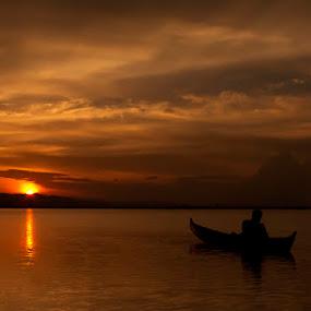 SunSet by Suwito Pomalingo - Landscapes Sunsets & Sunrises ( gorontalo )