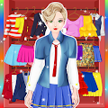 Game Doll High School Dress up apk for kindle fire