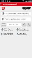 Screenshot of HandyTicket Deutschland
