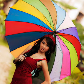 Colorfull Beauty by Mulia Aarr - People Portraits of Women ( model, fashion, color, beauty )