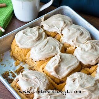 Pumpkin Pudding Rolls