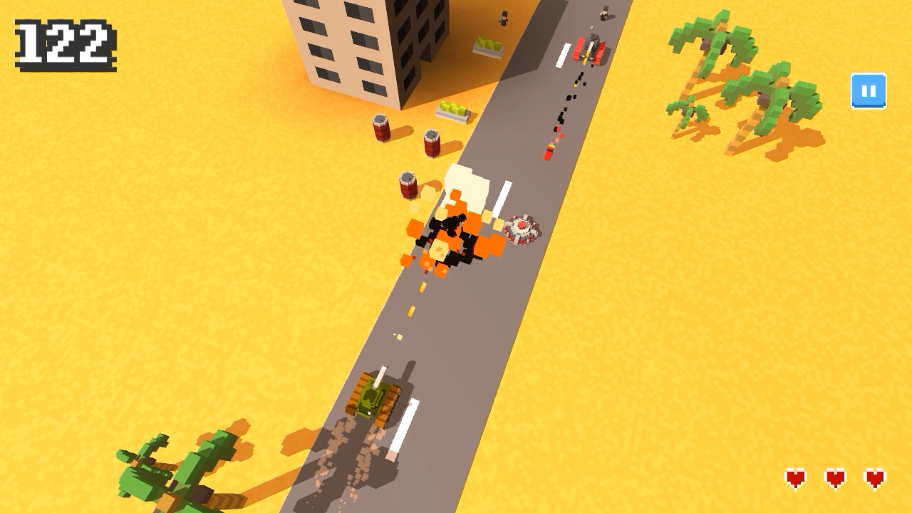 Operation Desert Road Screenshot