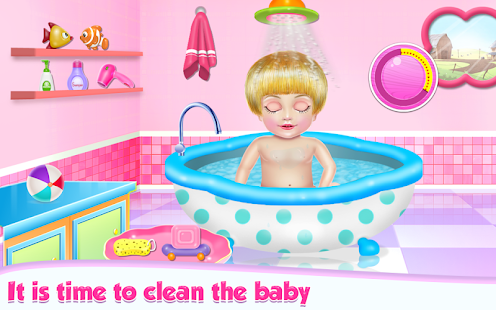 Cute Little Baby Care apk screenshot