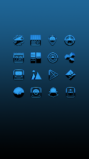 A-BLUE Icon Pack Screenshot