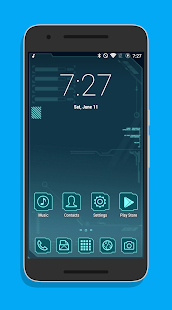 Sci-Fi Theme CM12.x/13- screenshot thumbnail