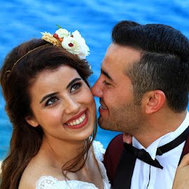 by Necdet Yaşar - Wedding Bride & Groom