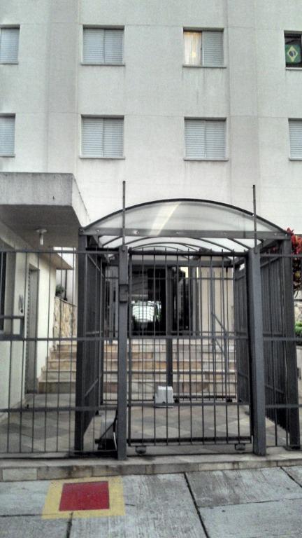 Apartamento com 1 dormitório para alugar, 50 m² por R$ 1.900/mês - Vila Clementino - São Paulo/SP