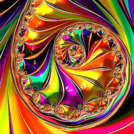 Colors by Capucino Julio - Illustration Abstract & Patterns ( anstract, bright, colors, fractal, design )