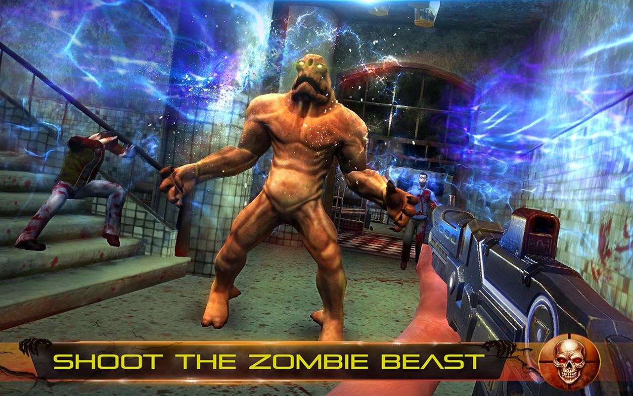 Infected House: Zombie Shooter Screenshot 9