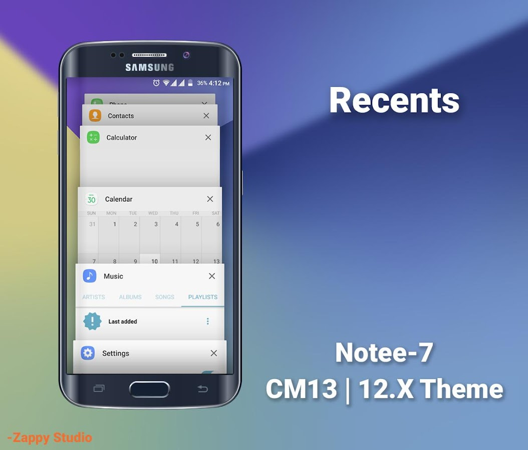 CM12/13.X Theme Galaxy 7 Style Screenshot 13