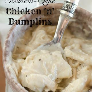 Cajun Chicken Dumplings Recipes