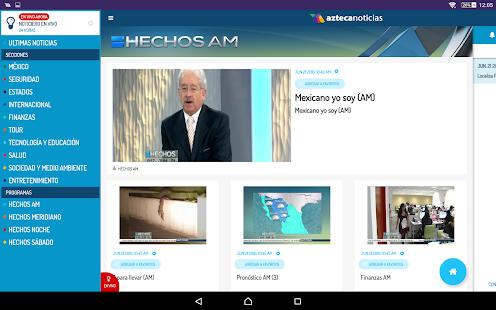 Azteca Noticias APK for iPhone