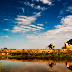 Through the Meadwos by Fotosutra - a PRASANTA SINGHA photography - Transportation Bicycles