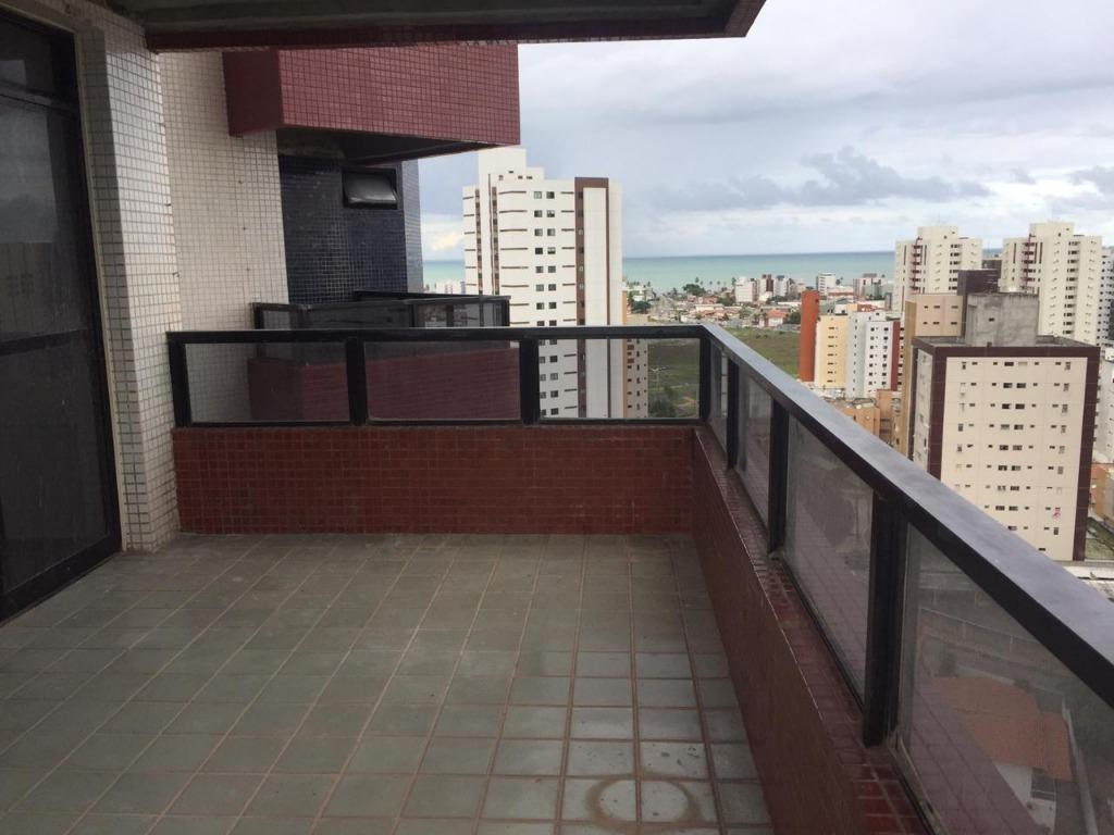 Apartamento com 4 dormitórios, 260 m² - venda por R$ 800.000,00 ou aluguel por R$ 2.150,00/mês - Aeroclube - João Pessoa/PB
