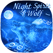 Free Night Wolf Spirit Theme APK for Windows 8