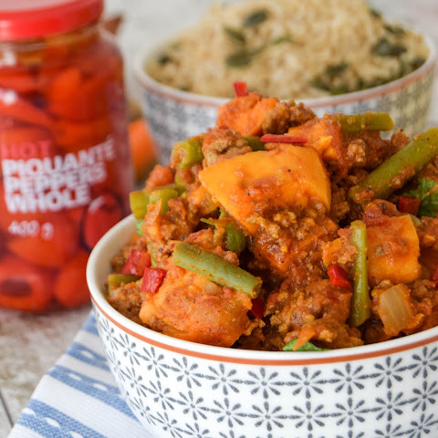 Hot & Spicy Turkey Keema Curry