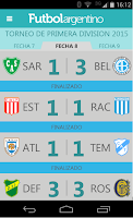 Screenshot of Futbol Argentino