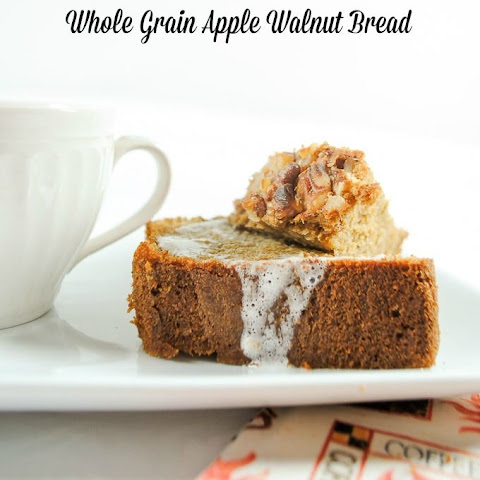 Whole Grain Apple Walnut Bread
