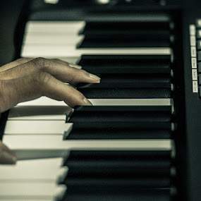 The keys to greatness by Aaron Zander - People Musicians & Entertainers ( music, keyboard, piano, hands, pwchandsandfeet )