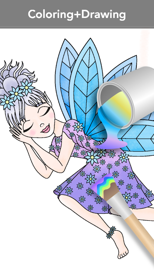 Princess coloring book Screenshot 1