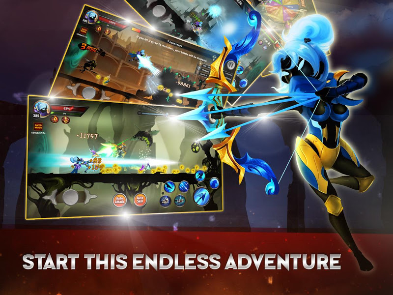 Stickman Legends: Shadow Wars Screenshot 2