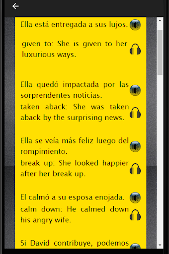 Spanish to English Speaking: Aprende Inglés Rápido screenshot 20